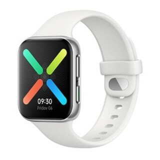 オッポ(OPPO)のNishi様専用OPPO Watch スマートウォッチ新品未使用 シルバーミスト(腕時計(デジタル))