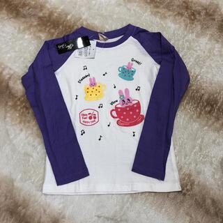 新品未使用★ロンT 130 女の子(Tシャツ/カットソー)