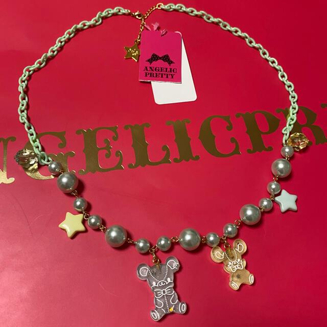 Angelic Pretty(アンジェリックプリティー)のJelly Candy Toysネックレス ミント レディースのアクセサリー(ネックレス)の商品写真