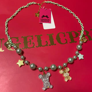 Angelic Pretty - Jelly Candy Toysネックレス ミント