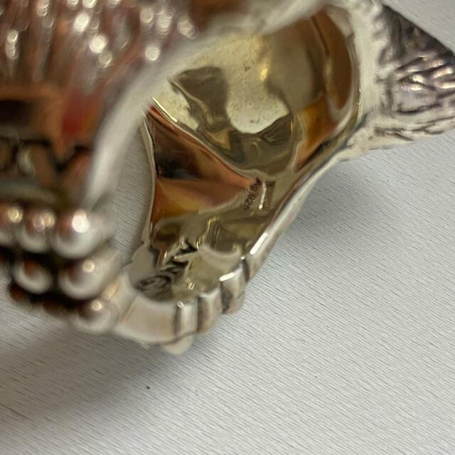 Gucci(グッチ)のGUCCI グッチ 正規品 ウルフヘッド レア ラージサイズ リング 21号  メンズのアクセサリー(リング(指輪))の商品写真