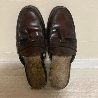 アナザーエディション(ANOTHER EDITION)のHARUTA ×Another Edition コラボ ローファー 24.5cm(ローファー/革靴)