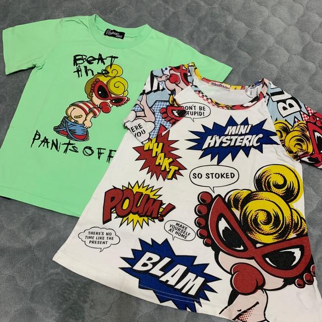 HYSTERIC MINI(ヒステリックミニ)のTシャツセット❤️ キッズ/ベビー/マタニティのキッズ服男の子用(90cm~)(Tシャツ/カットソー)の商品写真