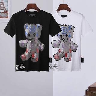 ルシアンペラフィネ(Lucien pellat-finet)の新作★フィリッププレイン Tシャツ(Tシャツ/カットソー(半袖/袖なし))