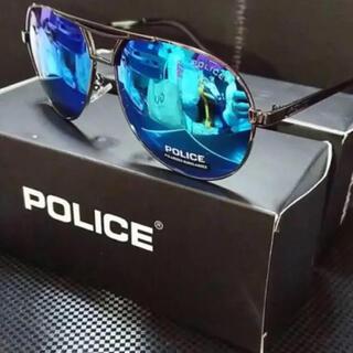 ポリス(POLICE)の偏光サングラス ミラーレンズ ポリスs8480 偏光グラス  ミラーレンズが◎(サングラス/メガネ)