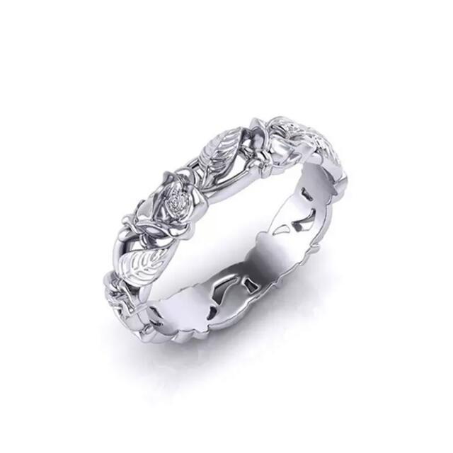 ヨーロピアンアンティーク調 シルバーリング 18号 レディースのアクセサリー(リング(指輪))の商品写真