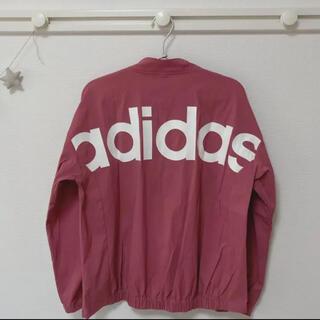 adidas - アディダス W SPORT ID ビッグロゴストレッチタッサージャケット