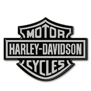 ハーレーダビッドソン(Harley Davidson)のハーレーダビッドソン エンブレム 3D樹脂ステッカー バーアンドシールド(ステッカー)