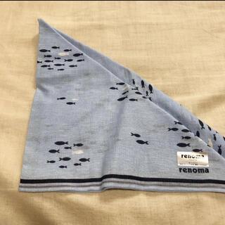 レノマ(RENOMA)の未使用 メンズハンカチ レノマ(ハンカチ/ポケットチーフ)