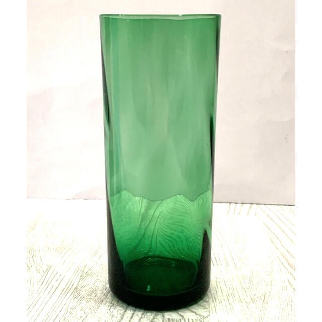 東洋佐々木ガラス(トウヨウササキガラス)の昭和レトロヴィンテージ♦︎佐々木ガラス♦︎カラーグラスタンブラー♦︎5個セット インテリア/住まい/日用品のキッチン/食器(グラス/カップ)の商品写真