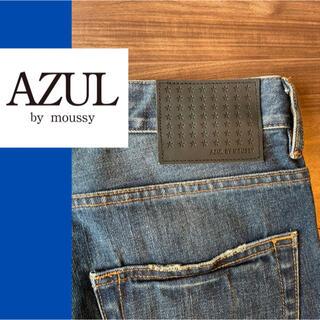 アズールバイマウジー(AZUL by moussy)の《新品》AZUL デニム ジーンズ Sサイズ(デニム/ジーンズ)