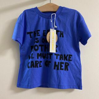コドモビームス(こども ビームス)のミニロディーニmini rodini 90.100☺︎ シンプルTシャツ(Tシャツ/カットソー)