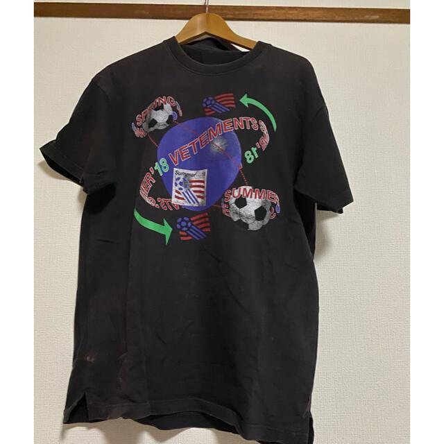 Balenciaga(バレンシアガ)のVETEMENTS vetements Tシャツ メンズのトップス(Tシャツ/カットソー(半袖/袖なし))の商品写真