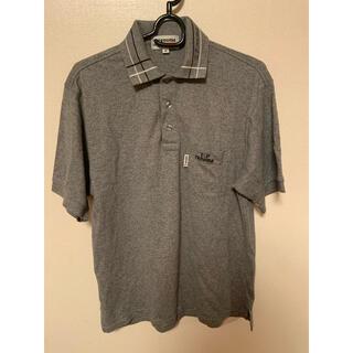 ユーピーレノマ(U.P renoma)のグレー ポロシャツ(ポロシャツ)