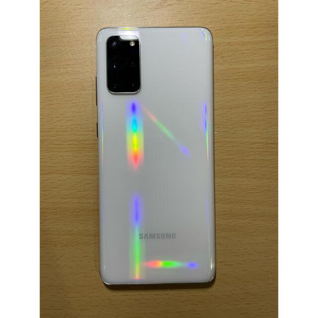 Galaxy(ギャラクシー)の超美品 GALAXY s20+ 5G 香港版 物理デュアルSIM スマホ/家電/カメラのスマートフォン/携帯電話(スマートフォン本体)の商品写真