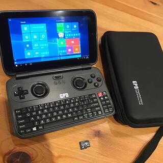 GPD WIN Z8750モデル オマケ64GB MicroSD&ケース!(ノートPC)