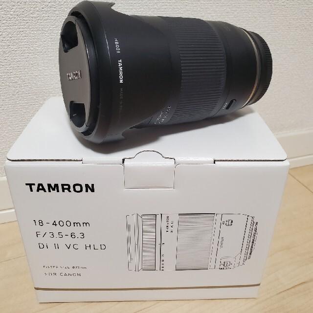 TAMRON(タムロン)の[ジローさん専用] Tamron 18-400mm F/3.5-6.3 スマホ/家電/カメラのカメラ(レンズ(ズーム))の商品写真