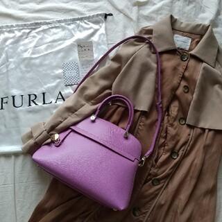 Furla - FURLA パイパー 2wayショルダーバッグ トート ハンド レザー