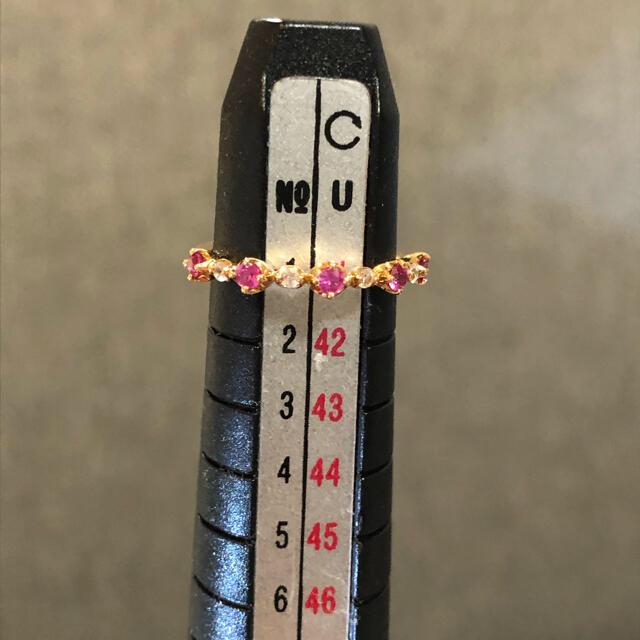 STAR JEWELRY(スタージュエリー)の【タロチ様専用】k18 スタージュエリー サファイア ピンキーリング 細身リング レディースのアクセサリー(リング(指輪))の商品写真