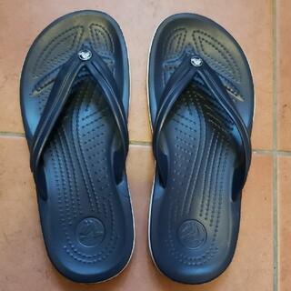 crocs - クロックス クロックバンドフリップ ビーチサンダル ブラック