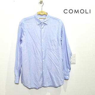 COMOLI - COMOLI コモリシャツ 水色 ライトブルー サイズ2 M メンズ