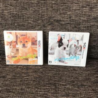 ニンテンドー3DS(ニンテンドー3DS)のニンテンドックスプラスキャッツ 柴とフレンチブル(携帯用ゲームソフト)