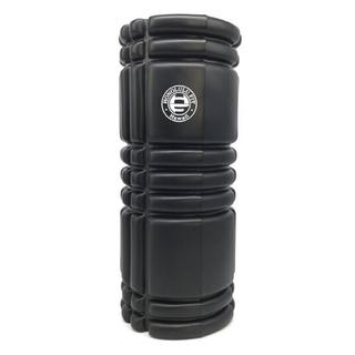 黒 フォームローラー/筋膜リリースローラー/33cm(ヨガ)