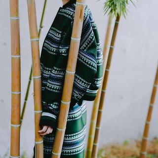 マメ(mame)の新品 Ethnic Pattern Jacquard Trapeze Skirt(ロングスカート)