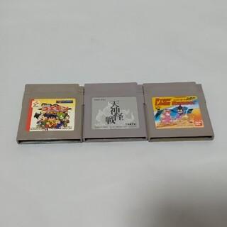 ゲームボーイ(ゲームボーイ)のゲームボーイ カセットセット⑤(携帯用ゲームソフト)