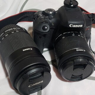 Canon - Canon EOS KISS X8i Wズームキット