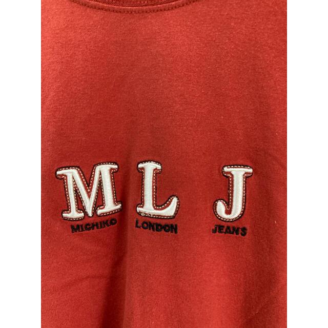 MICHIKO LONDON(ミチコロンドン)の古着 ミチコロンドン 刺繍 Tシャツ used  ビンテージ ヴィンテージ   レディースのトップス(Tシャツ(半袖/袖なし))の商品写真