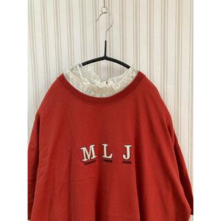 MICHIKO LONDON - 古着 ミチコロンドン 刺繍 Tシャツ used  ビンテージ ヴィンテージ