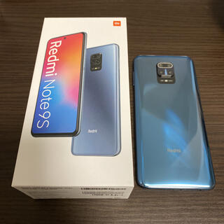ANDROID - Xiaomi Redmi Note 9S 128GB インターステラーグレー
