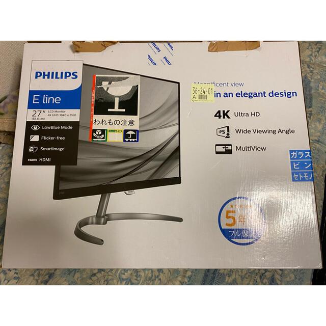 PHILIPS(フィリップス)のPHILIPS 4K モニター ゲーミング スマホ/家電/カメラのPC/タブレット(ディスプレイ)の商品写真