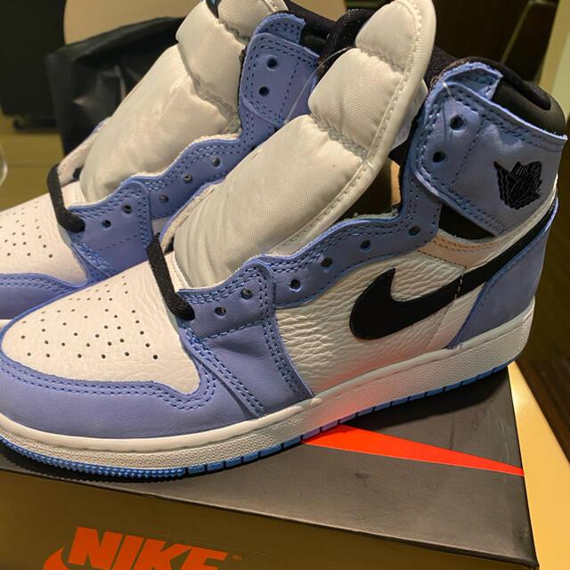 aj1 university blue 26.5 エアジョーダン1 メンズの靴/シューズ(スニーカー)の商品写真