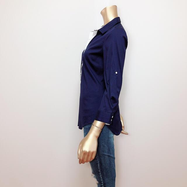 ZARA(ザラ)のZARA デザイン シャツ♡ベルシュカ JEANASIS H&M DIESEL レディースのトップス(シャツ/ブラウス(長袖/七分))の商品写真