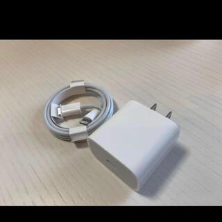 アップル(Apple)のiPhone 11Pro 付属品 急速 純正充電器セットTYPE-C(バッテリー/充電器)