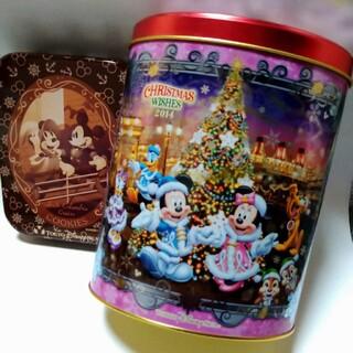 ディズニー(Disney)のDisneyland Sea ミッキーミニー 空き缶(小物入れ)