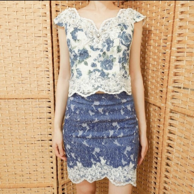 ROBE(ローブ)のローブドフルール セパレートドレス レディースのフォーマル/ドレス(ナイトドレス)の商品写真