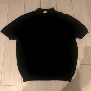 プラダ(PRADA)のPRADA ポロシャツ ブラック 48(ポロシャツ)