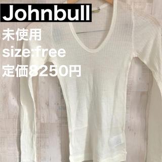 ジョンブル(JOHNBULL)の【新品】JOHNBULL レディース 長袖 カットソー(Tシャツ/カットソー(半袖/袖なし))