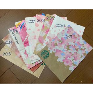 Starbucks Coffee - スターバックス ショッパー 歴代さくらシリーズ