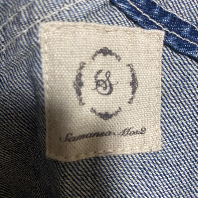 SM2(サマンサモスモス)のsm2    オーバーオール サロペット サマンサモスモス デニム レディースのパンツ(サロペット/オーバーオール)の商品写真