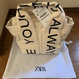 ZARA - ZARA ミディトートバッグ