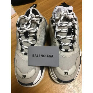 Balenciaga - バレンシアガ  トリプルs バニラ balenciaga Triples