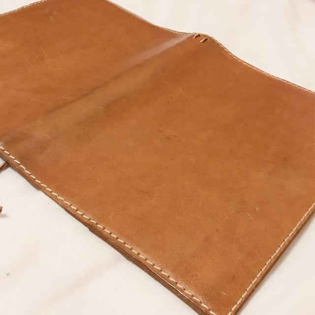 HERZ(ヘルツ)のヘルツ HERZ ほぼ日手帳カバー A5 キャメル メンズのファッション小物(手帳)の商品写真
