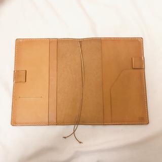 ヘルツ(HERZ)のヘルツ HERZ ほぼ日手帳カバー A5 キャメル(手帳)