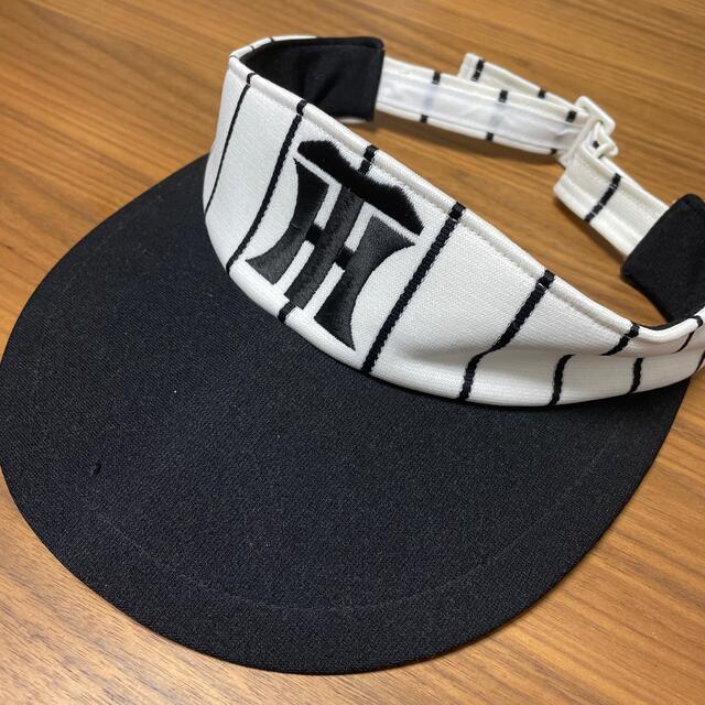阪神タイガース(ハンシンタイガース)の阪神タイガース サンバイザー スポーツ/アウトドアの野球(応援グッズ)の商品写真