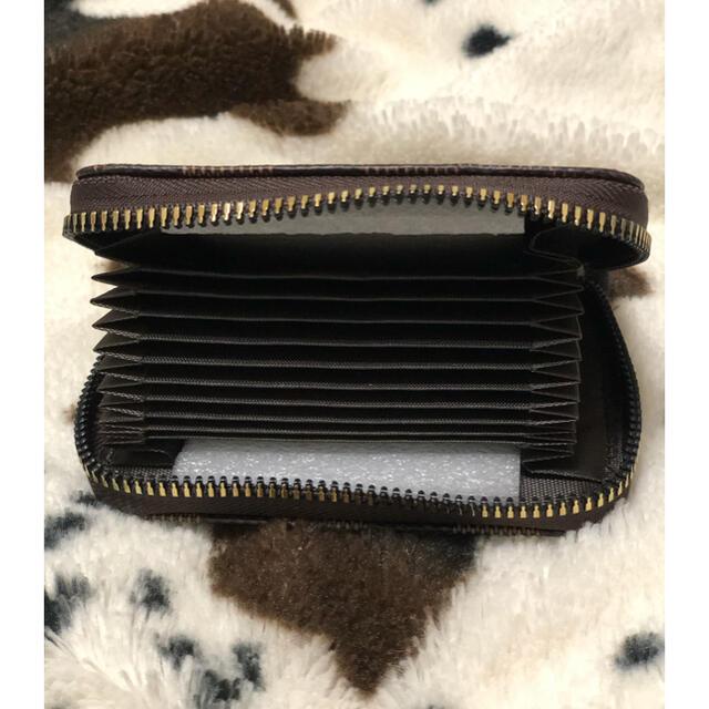 カードケース チェック柄 市松模様 カードホルダー カード入れ 定期入れ 財布 メンズのファッション小物(折り財布)の商品写真