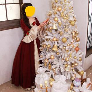 ディズニー(Disney)の美女と野獣 ベル クリスマスドレス 衣装セット(衣装一式)